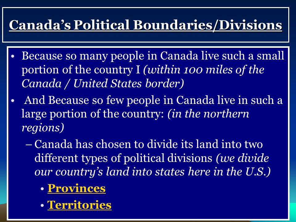 Canada & The United States (Bizarre Borders Part 2 ...