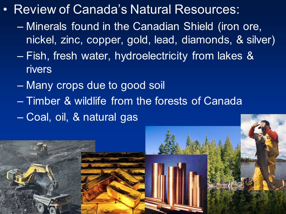 Review of Canada's Natural Resources: