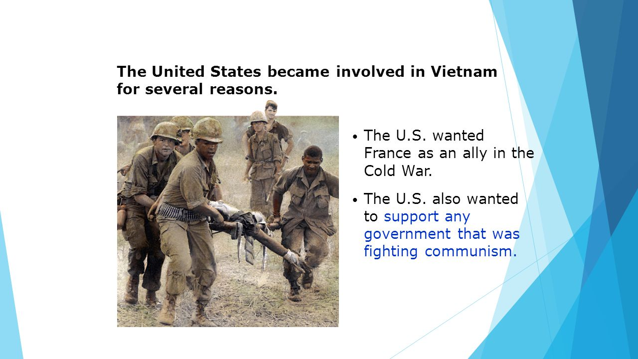 how the united states became involved in the vietnam war Free essay: why the united states became increasingly involved in the war in vietnam the vietnam conflict originated from a struggle against the colonial.