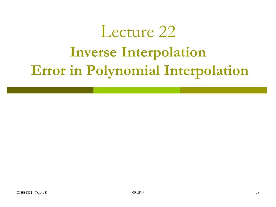 Linear Program Polynomial Interpolation Error