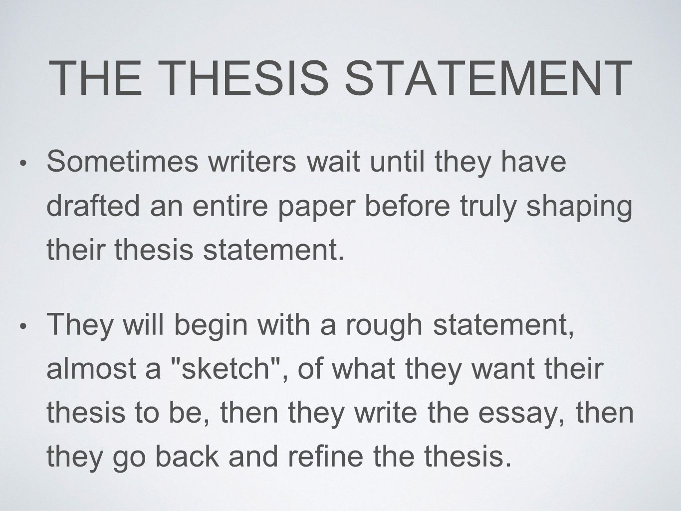 possible thesis statements for dracula A thesis statement thesis is an essential part of every essay actually, it is the map for the reader as this statement explains the things that will be discussed in the body of the essay.