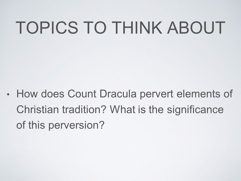 dracula essay questions