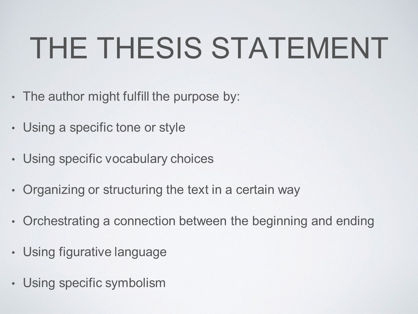 Summary Of 95 Thesis
