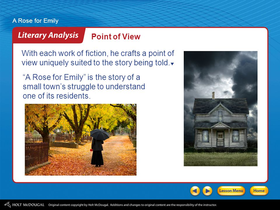 a rose for emily theme analysis
