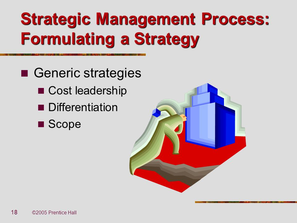 the cost leadership differentiation and scope strategies Cost leadership, basically, refers to the lowest cost of operation in the industry the cost leadership is a result of company efficiency, size, scale, scope and accumulated experience (the learning curve) a cost leadership strategy aims to utilize scale of production, well defined scope and other economies such as a good.