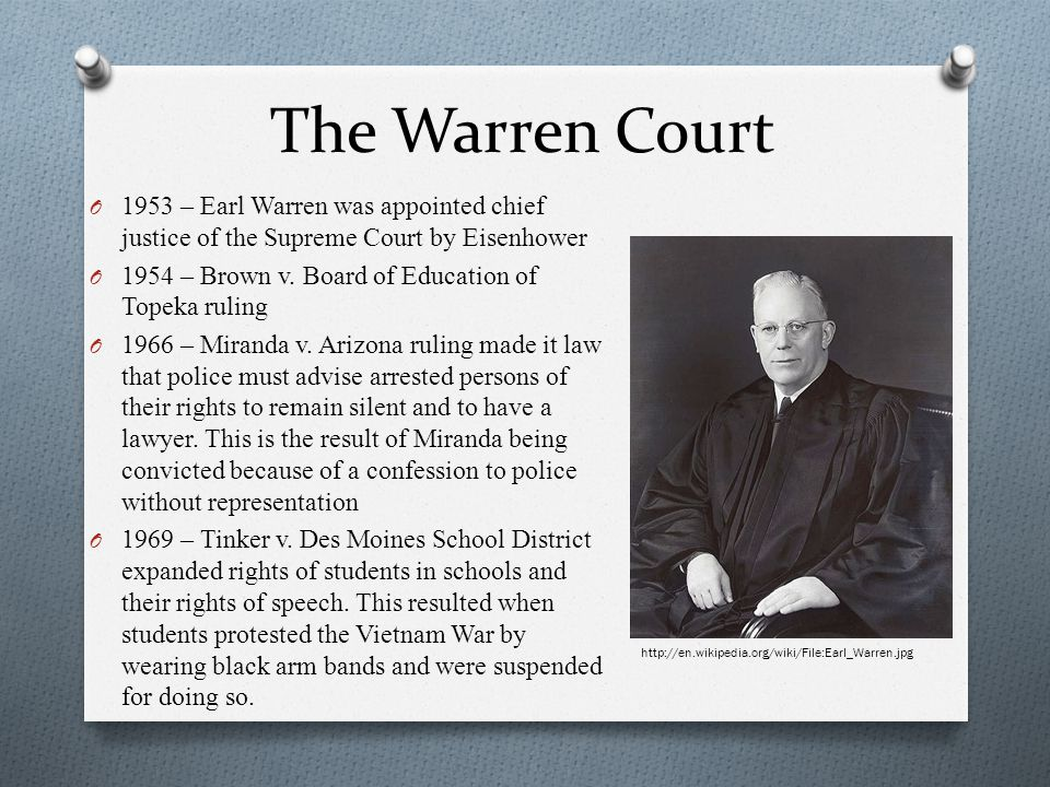 essay supreme court justice earl warren warren court justi Supreme court justice earl warren in twelve pages earl warren's life and role as supreme court justice are discussed with a consideration of whether the president can manipulate the court through appointments ten sources are cited in the bibliography.