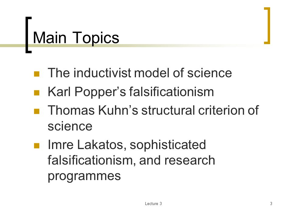 an introduction to the analysis of falsificationism Strengths and limitations of holistic dynamic theory  swot analysis for toyota introduction  the limitations of falsificationism problems.