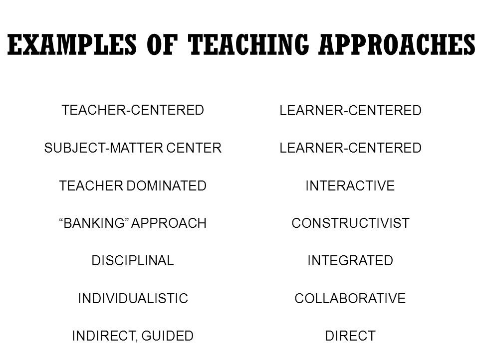 teaching and learning approach essay In this paper, the first part reviews the conception of learning and different approaches to learning that students adopted then introduces a systematic model called the 3p model of teaching and learning that explains the students' approaches to learning from three different stage points – presage, process, and product.