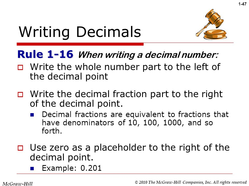 Chapter 1: Fractions and Decimals - ppt video online download