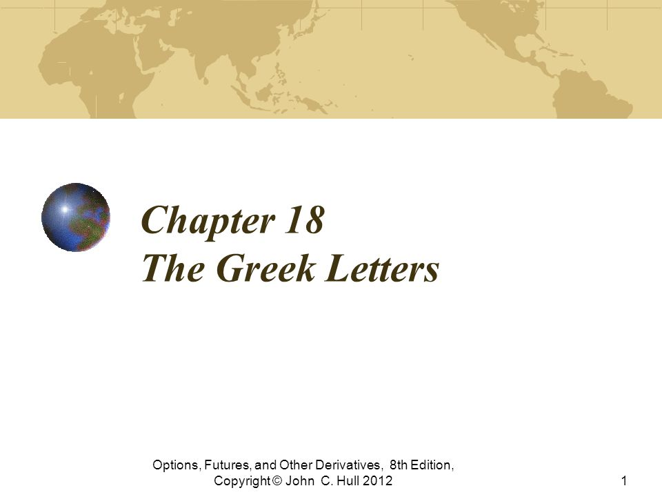 8th Greek Letter.Chapter 18 The Greek Letters Ppt Video Online Download