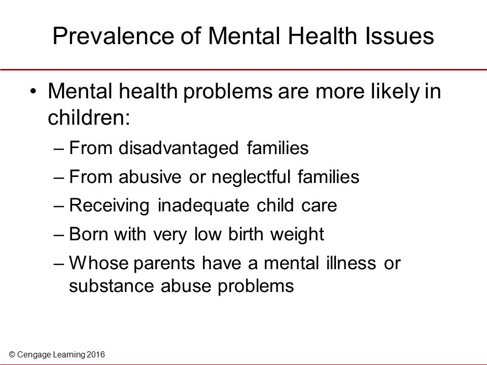 how to help child with mental health issues