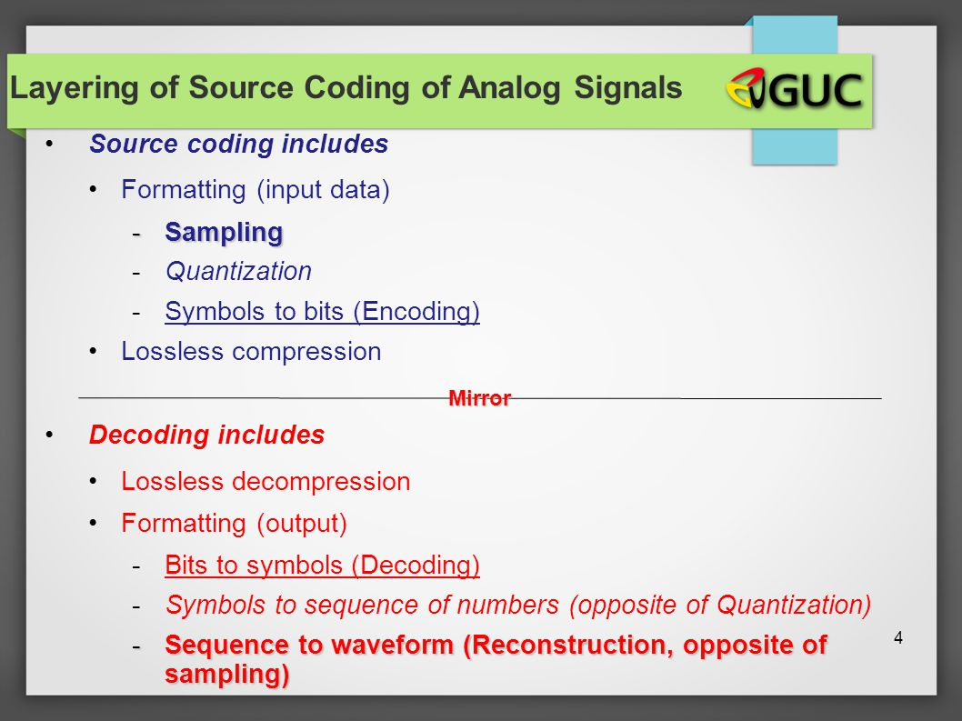 Lecture 7 source coding and compression lossy compression for Quantization table design revisited for image video coding