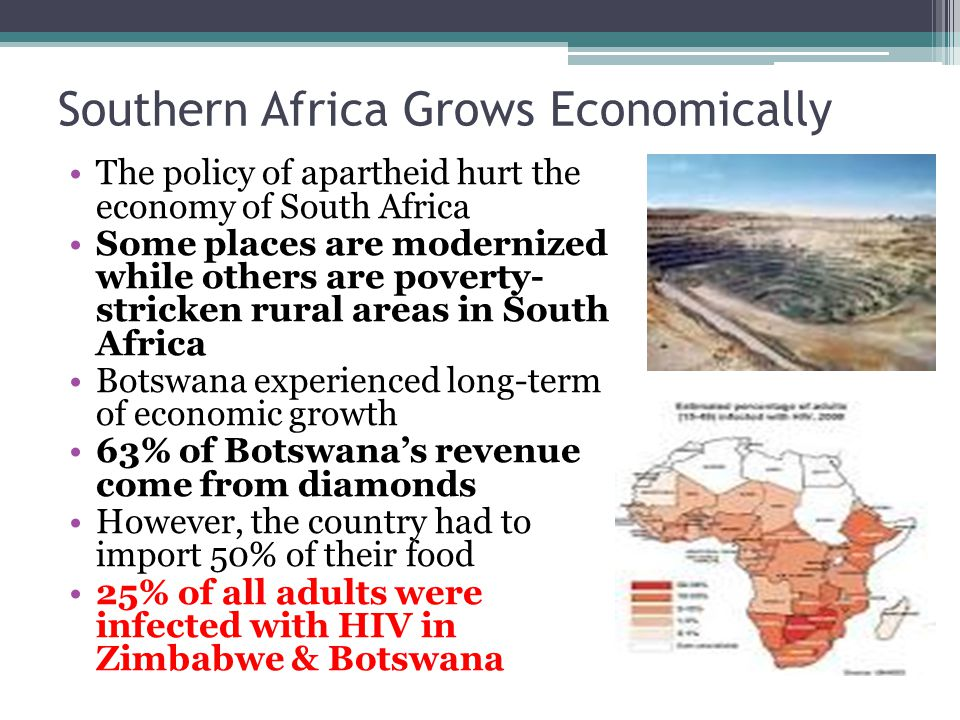 Geography population and economy of south africa