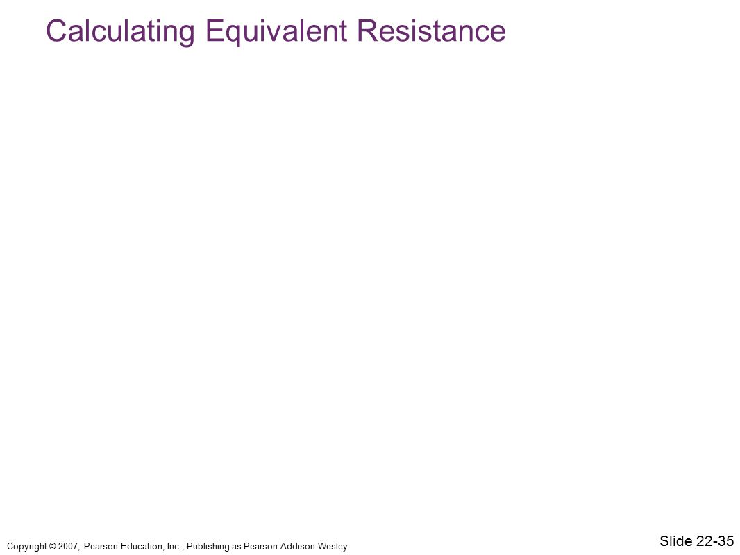 Calculating Equivalent Resistance