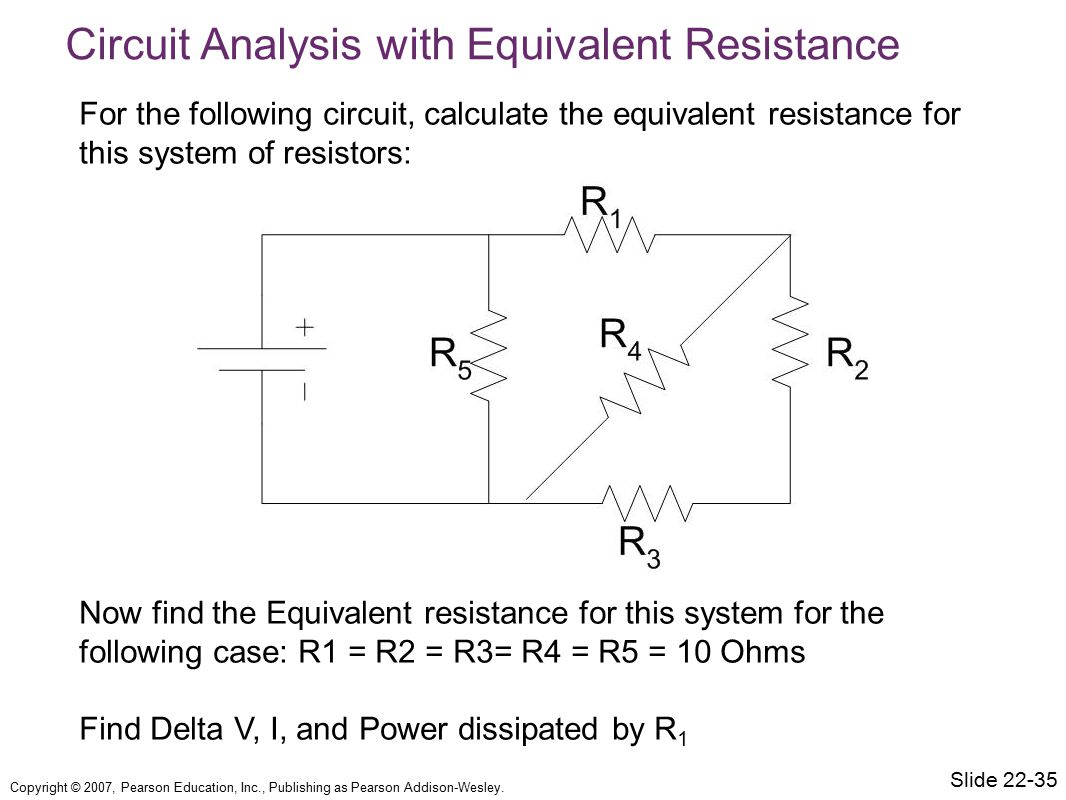 Circuit Analysis with Equivalent Resistance