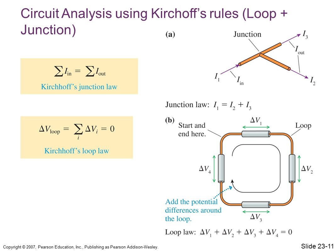 Circuit Analysis using Kirchoff's rules (Loop + Junction)