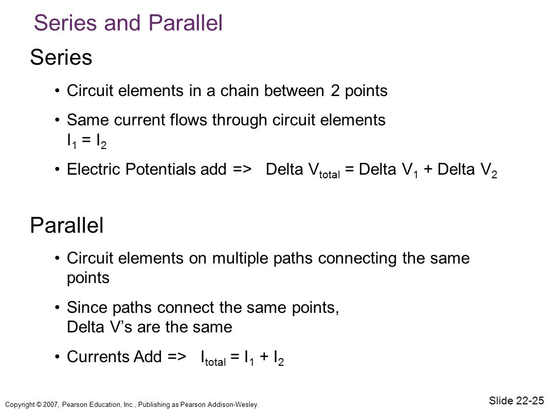Series and Parallel Series Parallel