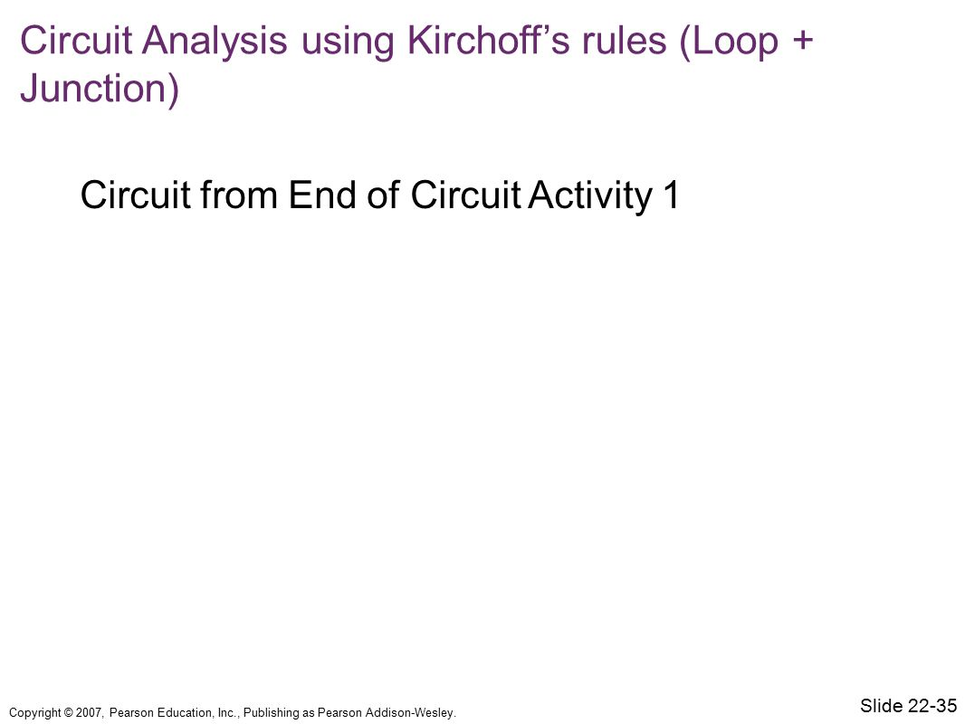 Circuit from End of Circuit Activity 1