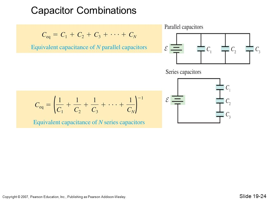 Capacitor Combinations