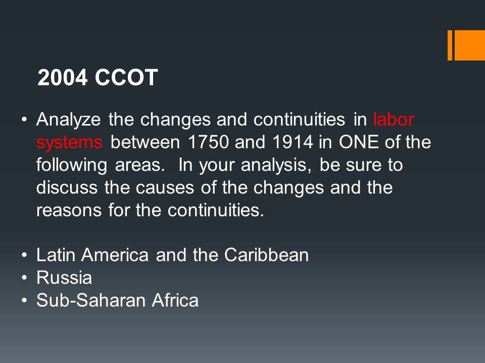 for the period before 1750 analyze Analyze social and economic transformations  it is a time period long before the independence movements of the 1800s e napp  dates are important and this time period from 1492 until 1750 is the time of the conquest and colonization of the americas, the transatlantic slave trade, the age of mercantilism, and the beginning of colonial.