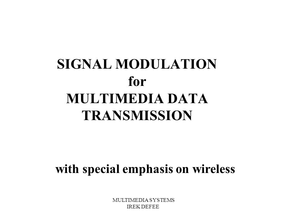 Wireless Multimedia Extensions