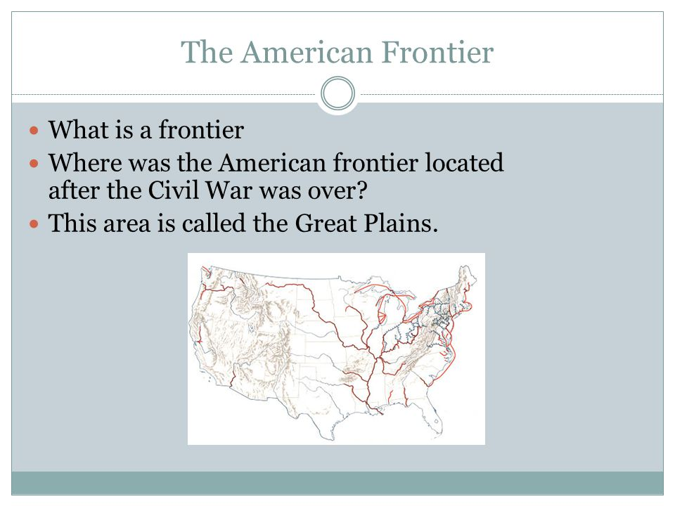 """what is frontier thesis The emergence of western history as an important field of scholarship started with frederick jackson turner's (1861-1932) famous essay """"the significance of the frontier in american history."""
