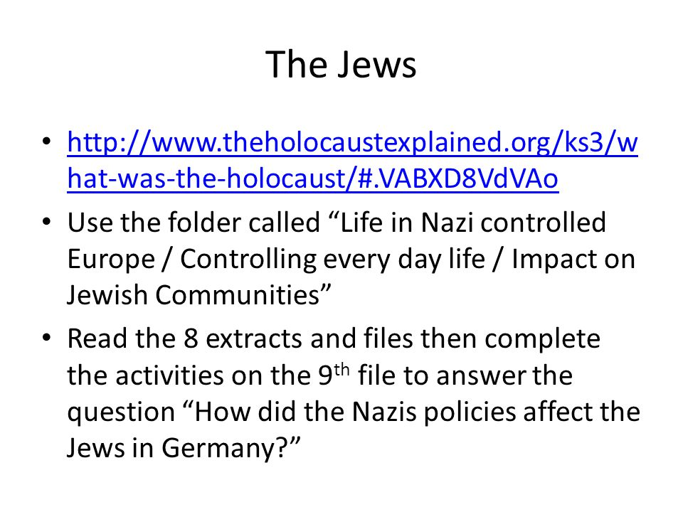 how much impact did the nazi