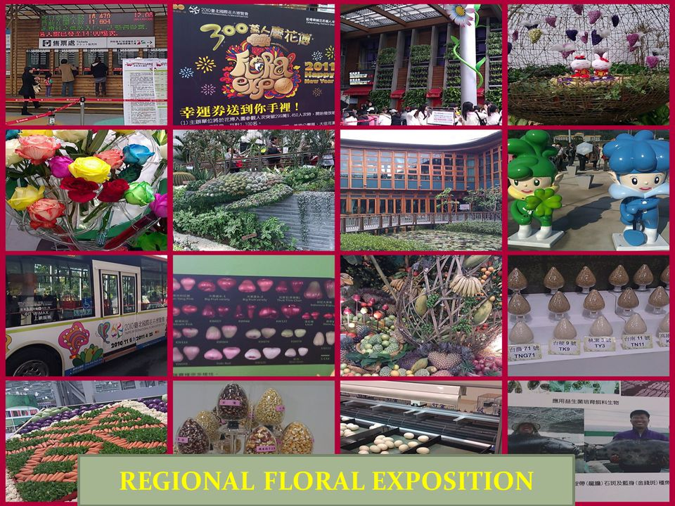 REGIONAL FLORAL EXPOSITION