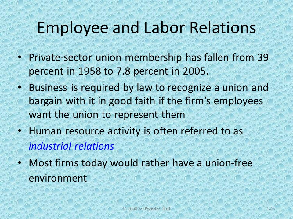 relevance of industrial relations in today's The current round of industrial action shows that hr downgrades the importance of good industrial relations at its peril twenty to 30 years ago, industrial relations skills were central to any successful personnel department.