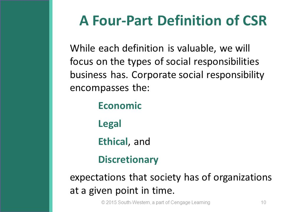 the moral responsibilities of the corporations Business ethics - the moral responsibilities of multinational corporations (mncs.