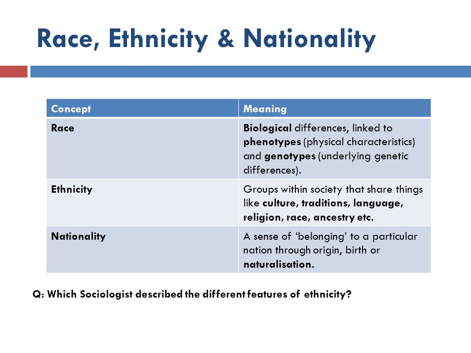 what race and ethnicity means essay For as long as i can remember, friends, colleagues, and strangers have asked me this question, unable to place my ethnicity.