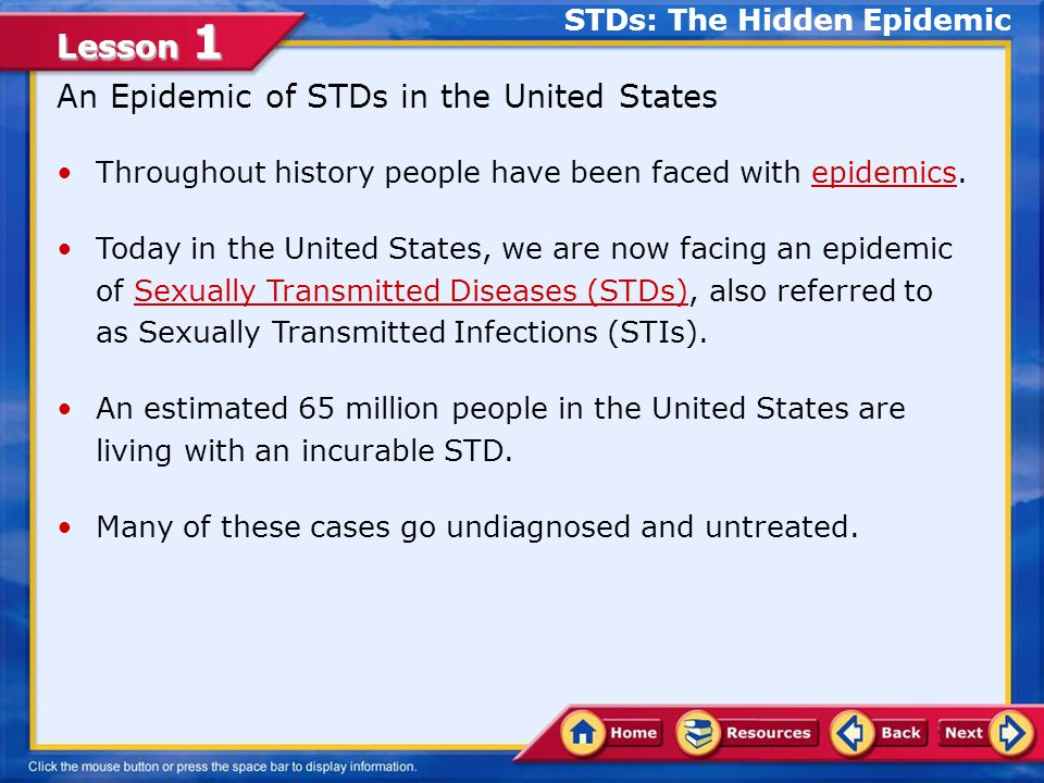 STDs: The Hidden Epidemic