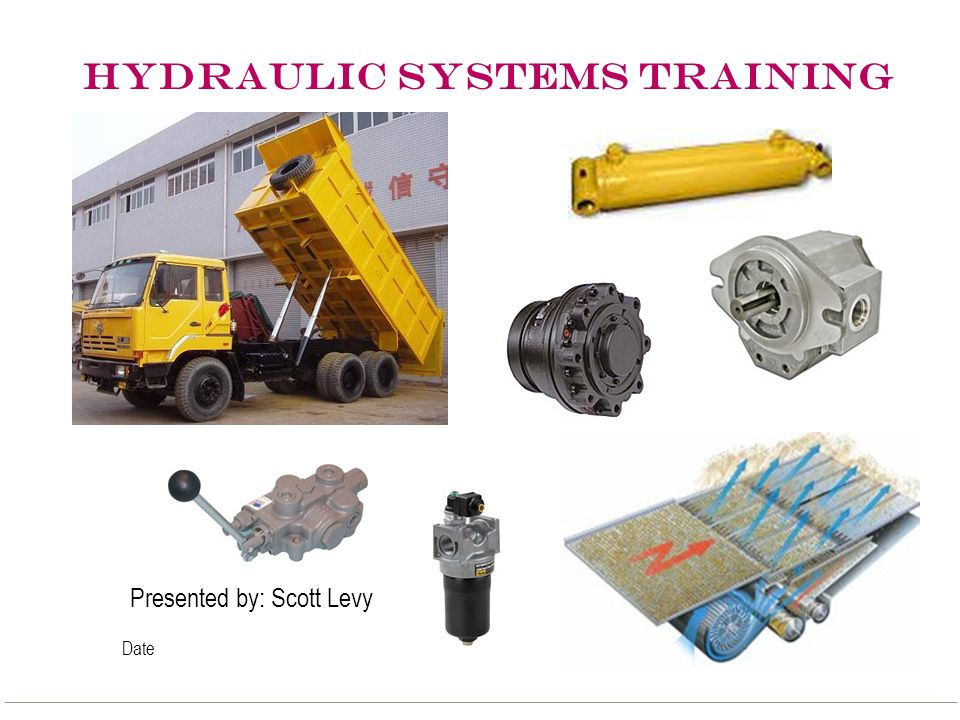 HYDRAULIC SYSTEMS TRAINING