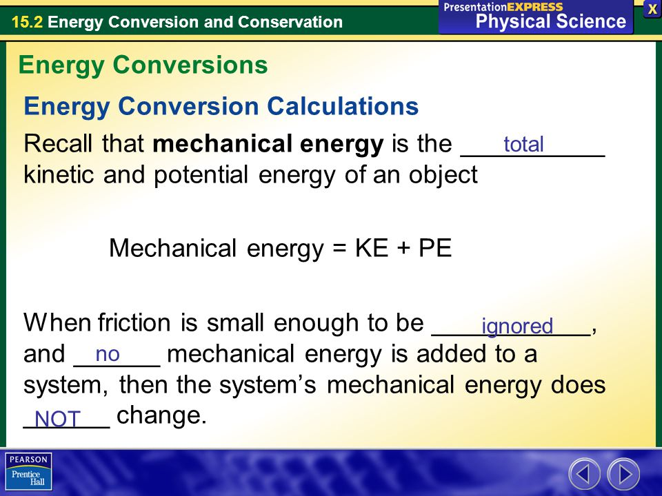 section 152 energy conversion and conservation Primus Green Energy – Energy Conversions Worksheet