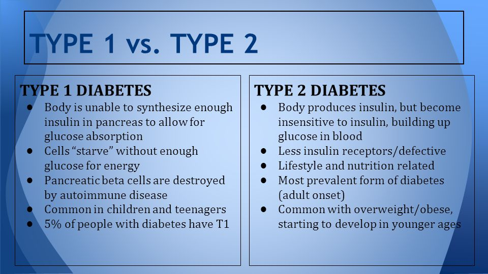 type 2 adult diabetes
