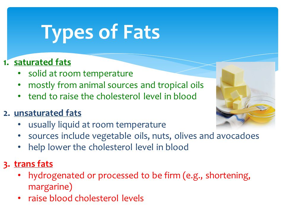 Saturated Fats Are Usually Liquid At Room Temperature