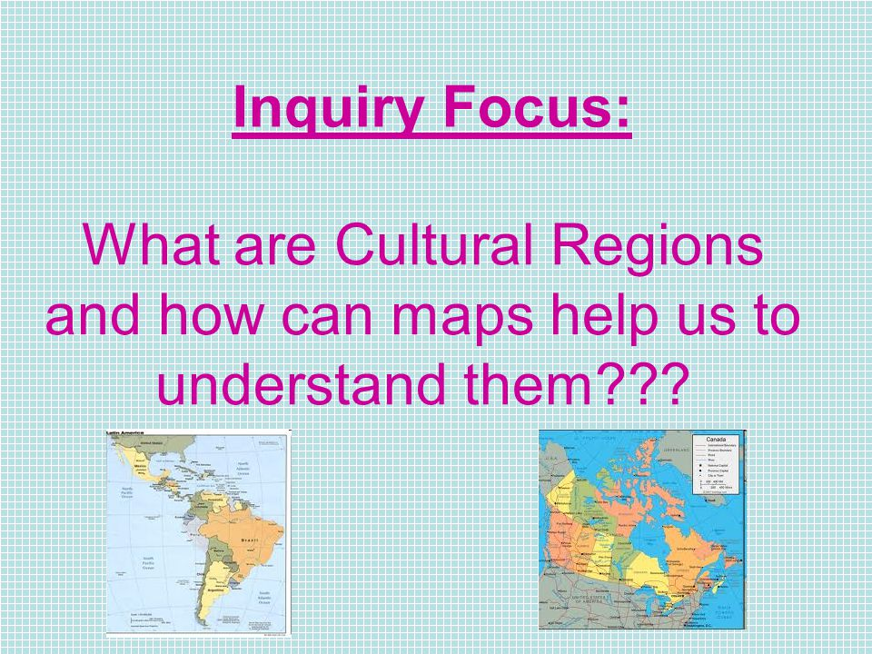 Chapter Cultural Regions In Our World Ppt Download - How do maps help us