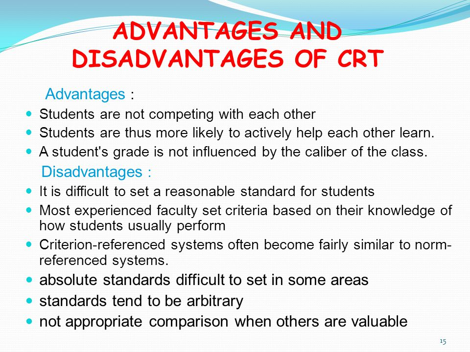 advantages and disadvantages of system testing Standardized tests are used frequently in educational settings this lesson will help you understand the advantages and disadvantages of these tests and also explore factors that impact standardized test performance.