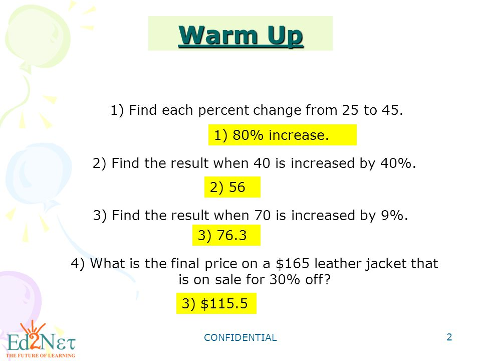 Grade 8 algebra1 review of proportion and percent ppt download 2 warm fandeluxe Choice Image