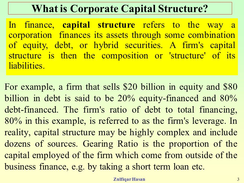 capital structure and debt structure 2015-1-14 capital structure and the financial crisis  reduce the amount of debt and equity capital financing available to businesses and to create a  capital structure.