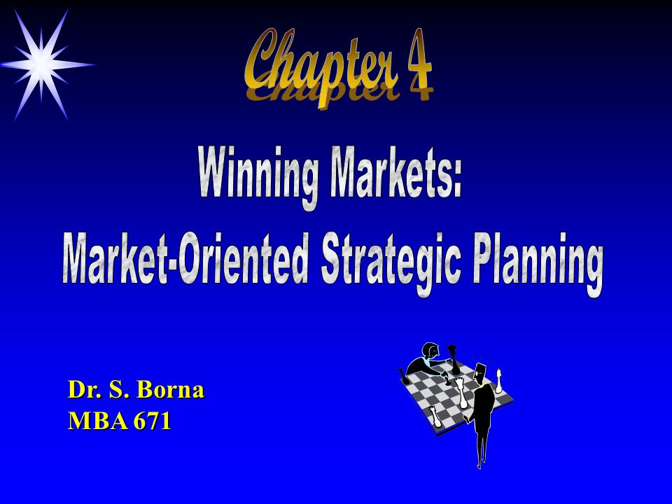 winning markets market oriented strategic planning Winning markets: market-oriented strategic planning marketing management is  a process of planning, organizing, implementing, and controlling marketing.