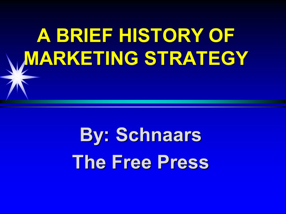 a brief history of marketing Here's a detailed write up about the history and evolution of digital marketing, through the ages read on to know the latest digital marketing trends.