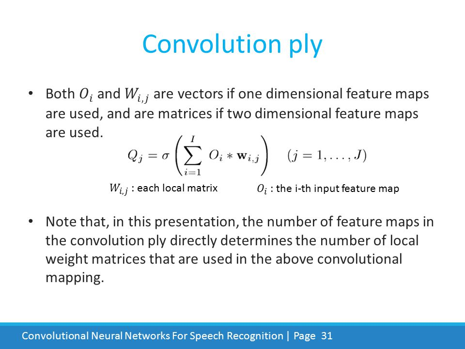 Convolutional Neural Networks For Speech Recognition | Page