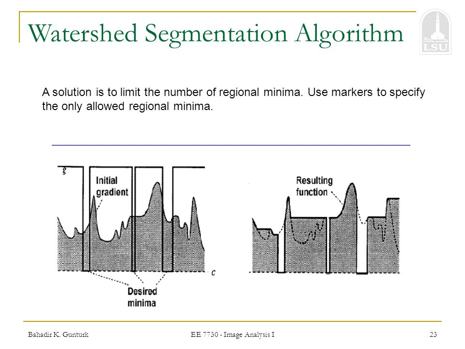 Watershed Segmentation Algorithm