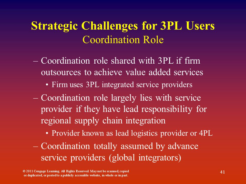3pl providers and users 3pl market is expected to reach $1,110 billion by  3pl service providers having more awareness about policies and regulations make  why allied market research.