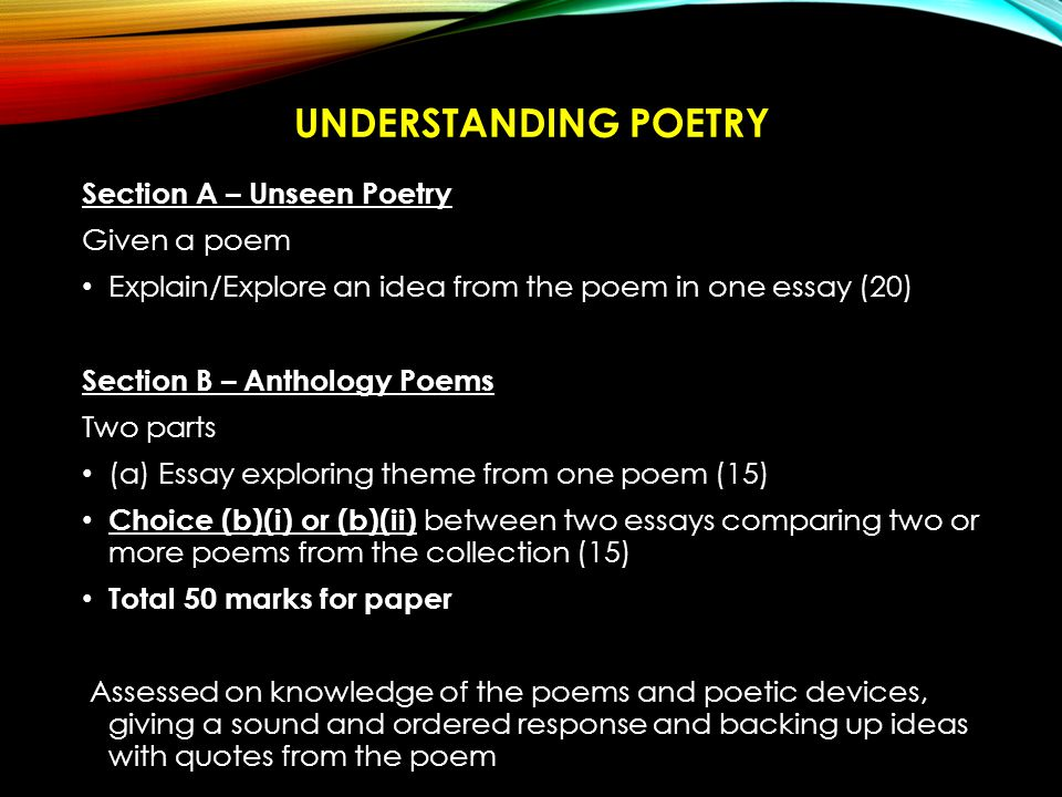 poem comparison essay Comparison of two poems essay there are several similarities in the two poems poem by frank o'hara and country fair by charles simic - comparison of two poems essay introduction the main form of similarity that leaps forth is the use of symbolism and mood.