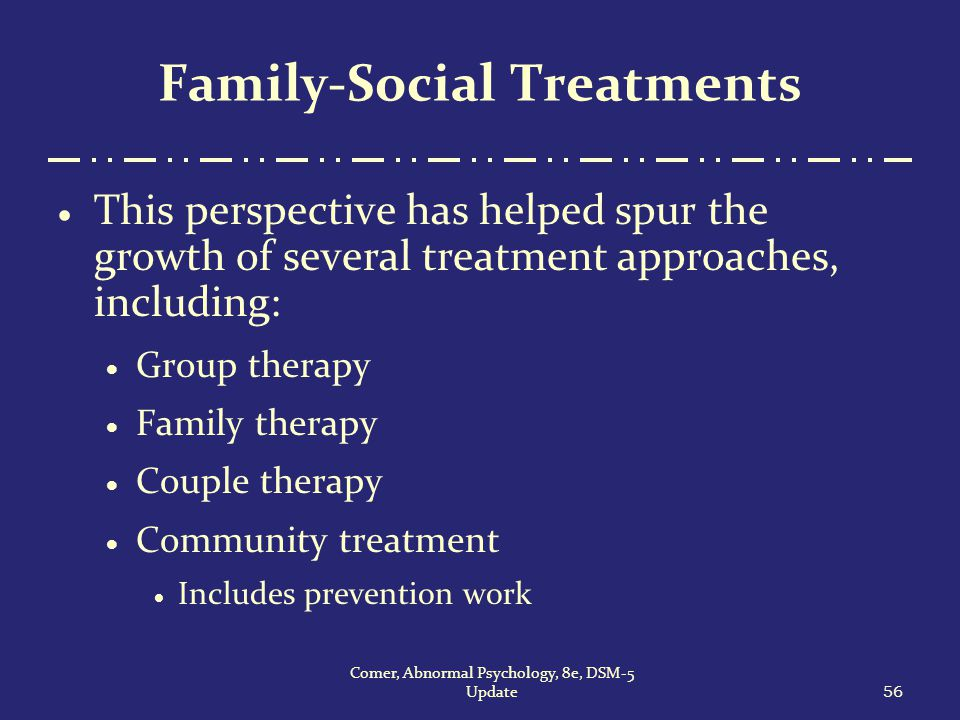 abnormal psychology and therapy Compare and contrast client-centered therapy with gestalt therapy in terms of the goals of therapy, the role of the therapist, and therapeutic effectiveness client-centered therapy vs gestalt therapy.