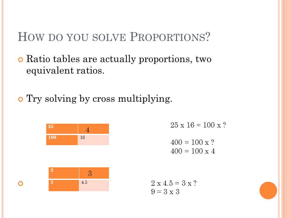 How can you represent a relationship between two quantities? - ppt ...