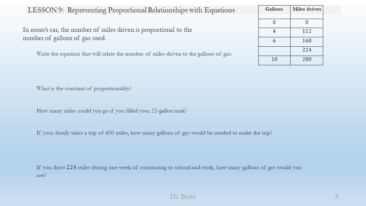 lesson 9 representing proportional relationships with equations ppt download. Black Bedroom Furniture Sets. Home Design Ideas