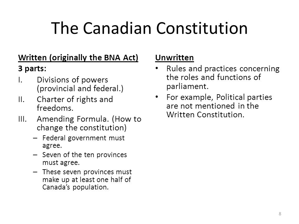 The Structure of Canada's Government - ppt video online ...